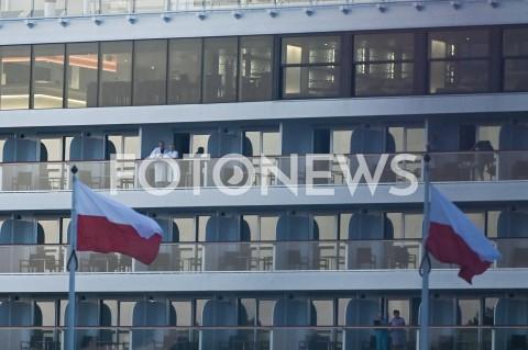 AGENCJA FOTONEWS - 01.09.2019 GDANSKOBCHODY 80. ROCZNICY WYBUCHU II WOJNY SWIATOWEJ NA WESTERPLATTE(Commemorative ceremony at Westerplatte ? 80th anniversary of the outbreak of the Second World War)N/Z WYCIECZKOWIEC VIKING PRZEPLYWAJACY OBOK WESTERPLATTEFOT MATEUSZ SLODKOWSKI / FOTONEWS