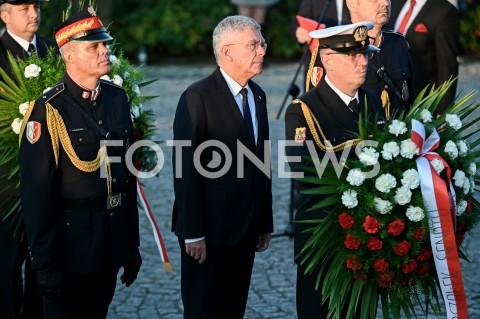 AGENCJA FOTONEWS - 01.09.2019 GDANSKOBCHODY 80. ROCZNICY WYBUCHU II WOJNY SWIATOWEJ NA WESTERPLATTE(Commemorative ceremony at Westerplatte ? 80th anniversary of the outbreak of the Second World War)N/Z STANISLAW KARCZEWSKIFOT MATEUSZ SLODKOWSKI / FOTONEWS