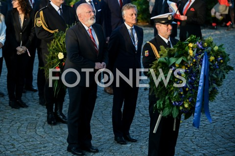 AGENCJA FOTONEWS - 01.09.2019 GDANSKOBCHODY 80. ROCZNICY WYBUCHU II WOJNY SWIATOWEJ NA WESTERPLATTE(Commemorative ceremony at Westerplatte ? 80th anniversary of the outbreak of the Second World War)N/Z FRANS TIMMERMANSFOT MATEUSZ SLODKOWSKI / FOTONEWS