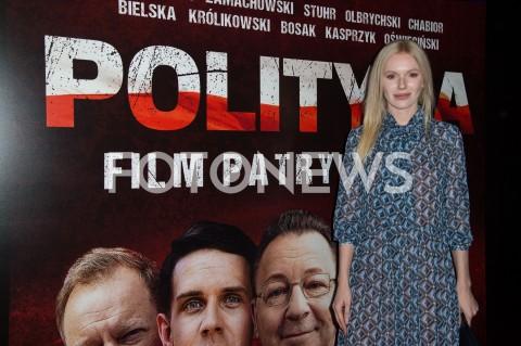 AGENCJA FOTONEWS - 03.09.2019 WARSZAWA POKAZ PREMIEROWY FILMU POLITYKA W WARSZAWIEN/Z JOANNA MAJSTRAKFOT JACEK MYSZKOWSKI/FOTONEWS