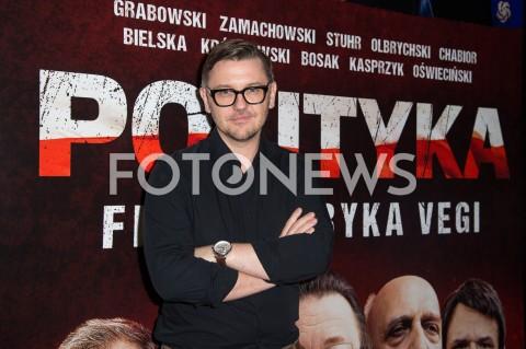 AGENCJA FOTONEWS - 03.09.2019 WARSZAWA POKAZ PREMIEROWY FILMU POLITYKA W WARSZAWIEN/Z KRZYSZTOF CZECZOTFOT JACEK MYSZKOWSKI/FOTONEWS