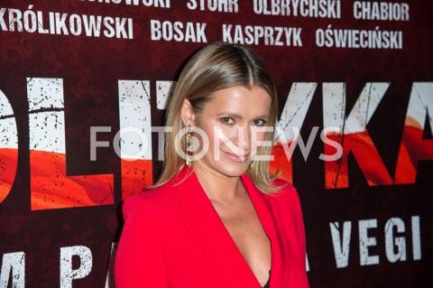 AGENCJA FOTONEWS - 03.09.2019 WARSZAWA POKAZ PREMIEROWY FILMU POLITYKA W WARSZAWIEN/Z ANNA OBERCFOT JACEK MYSZKOWSKI/FOTONEWS