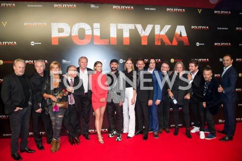 """Premiera filmu """"Polityka"""" w Warszawie"""