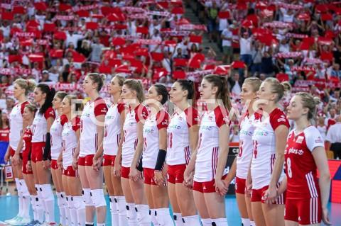 AGENCJA FOTONEWS - 04.09.2019 LODZ ( POLAND )SIATKOWKA KOBIET MISTRZOSTWA EUROPY KOBIET CEV EUROVOLLEY 2019 WOMEN EUROPEAN CHAMPIONSHIP1/4 FINALU MECZ POLSKA - NIEMCY ( Poland - Germany ) N/Z ZAWODNICZKI SIATKARKI REPREZENTACJI POLSKI MARIA STENZEL JOANNA WOLOSZ NATALIA MEDRZYK MARTYNA LUKASIK KATARZYNA ZAROSLINSKA - KROL ALEKSANDRA WOJCIK KLAUDIA ALAGIERSKA ZUZANNA EFIMIENKO - MLOTKOWSKA MAGDALENA STYSIAK MARLENA KOWALEWSKA PLESNIEROWICZ MARTYNA GRAJBER MALWINA SMARZEK - GODEK PAULINA MAJ - ERWARDT AGNIESZKA KAKOLEWSKA FOT ARTUR MARCINKOWSKI / FOTONEWS