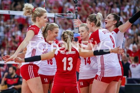 AGENCJA FOTONEWS - 04.09.2019 LODZ ( POLAND )SIATKOWKA KOBIET MISTRZOSTWA EUROPY KOBIET CEV EUROVOLLEY 2019 WOMEN EUROPEAN CHAMPIONSHIP1/4 FINALU MECZ POLSKA - NIEMCY ( Poland - Germany ) N/Z NATALIA MEDRZYK AGNIESZKA KAKOLEWSKA JOANNA WOLOSZ MALWINA SMARZEK - GODEK MAGDALENA STYSIAK RADOSC EMOCJE FOT ARTUR MARCINKOWSKI / FOTONEWS