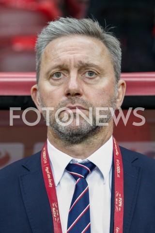AGENCJA FOTONEWS - 09.09.2019 - WARSZAWAPILKA NOZNA - KWALIFIKACJE UEFA EURO 2020FOOTBALL UEFA EURO 2020 QUALIFIERSMECZ POLSKA (POLAND) - AUSTRIA (AUSTRIA)N/Z TRENER JERZY BRZECZEK ( HEAD COACH ) FOT DAREK NOWAK / FOTONEWS