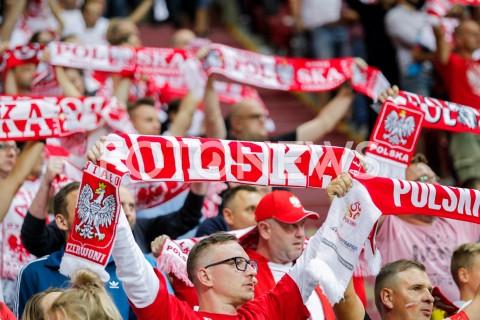 AGENCJA FOTONEWS - 09.09.2019 - WARSZAWAPILKA NOZNA - KWALIFIKACJE UEFA EURO 2020FOOTBALL UEFA EURO 2020 QUALIFIERSMECZ POLSKA (POLAND) - AUSTRIA (AUSTRIA)N/Z KIBICE DOPING OPRAWA TRYBUNY BIALO CZERWONEFOT DAREK NOWAK / FOTONEWS