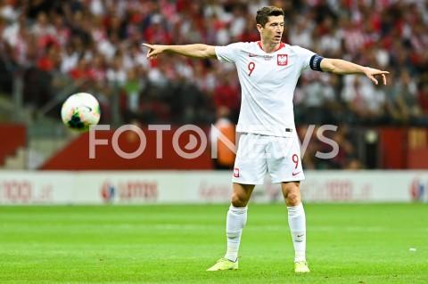 AGENCJA FOTONEWS - 09.09.2019 - WARSZAWAPILKA NOZNA - KWALIFIKACJE UEFA EURO 2020FOOTBALL UEFA EURO 2020 QUALIFIERSMECZ POLSKA (POLAND) - AUSTRIA (AUSTRIA)N/Z ROBERT LEWANDOWSKI SYLWETKAFOT MATEUSZ SLODKOWSKI / FOTONEWS