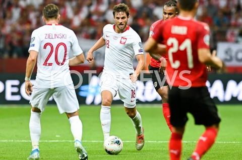 AGENCJA FOTONEWS - 09.09.2019 - WARSZAWAPILKA NOZNA - KWALIFIKACJE UEFA EURO 2020FOOTBALL UEFA EURO 2020 QUALIFIERSMECZ POLSKA (POLAND) - AUSTRIA (AUSTRIA)N/Z BARTOSZ BERESZYNSKIFOT MATEUSZ SLODKOWSKI / FOTONEWS