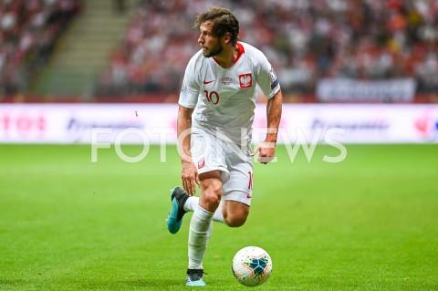 AGENCJA FOTONEWS - 09.09.2019 - WARSZAWAPILKA NOZNA - KWALIFIKACJE UEFA EURO 2020FOOTBALL UEFA EURO 2020 QUALIFIERSMECZ POLSKA (POLAND) - AUSTRIA (AUSTRIA)N/Z GRZEGORZ KRYCHOWIAK SYLWETKAFOT MATEUSZ SLODKOWSKI / FOTONEWS