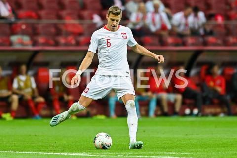 AGENCJA FOTONEWS - 09.09.2019 - WARSZAWAPILKA NOZNA - KWALIFIKACJE UEFA EURO 2020FOOTBALL UEFA EURO 2020 QUALIFIERSMECZ POLSKA (POLAND) - AUSTRIA (AUSTRIA)N/Z JAN BEDNAREK SYLWETKAFOT MATEUSZ SLODKOWSKI / FOTONEWS