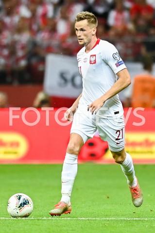 AGENCJA FOTONEWS - 09.09.2019 - WARSZAWAPILKA NOZNA - KWALIFIKACJE UEFA EURO 2020FOOTBALL UEFA EURO 2020 QUALIFIERSMECZ POLSKA (POLAND) - AUSTRIA (AUSTRIA)N/Z TOMASZ KEDZIORA SYLWETKAFOT MATEUSZ SLODKOWSKI / FOTONEWS