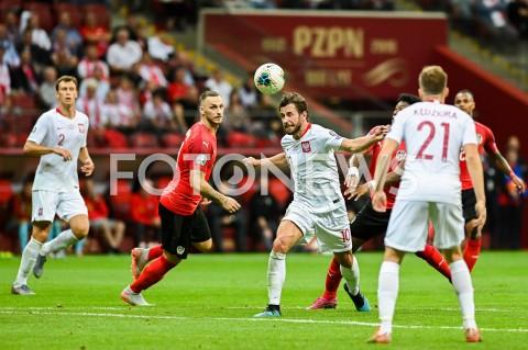AGENCJA FOTONEWS - 09.09.2019 - WARSZAWAPILKA NOZNA - KWALIFIKACJE UEFA EURO 2020FOOTBALL UEFA EURO 2020 QUALIFIERSMECZ POLSKA (POLAND) - AUSTRIA (AUSTRIA)N/Z MARKO ARNAUTOVIC GRZEGORZ KRYCHOWIAKFOT MATEUSZ SLODKOWSKI / FOTONEWS