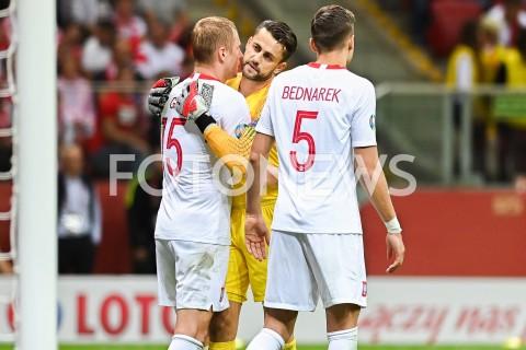 AGENCJA FOTONEWS - 09.09.2019 - WARSZAWAPILKA NOZNA - KWALIFIKACJE UEFA EURO 2020FOOTBALL UEFA EURO 2020 QUALIFIERSMECZ POLSKA (POLAND) - AUSTRIA (AUSTRIA)N/Z JAN BEDNAREK LUKASZ FABIANSKI KAMIL GLIKFOT MATEUSZ SLODKOWSKI / FOTONEWS