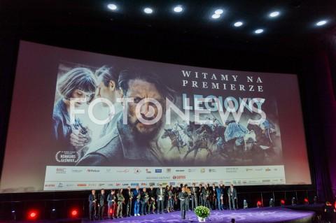 AGENCJA FOTONEWS - 16.09.2019 WARSZAWA POKAZ PREMIEROWY FILMU LEGIONY W WARSZAWIEN/Z AKTORZY OBSADAFOT JACEK MYSZKOWSKI/FOTONEWS