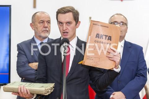 Prezentacja raportu końcowego komisji ds. reprywatyzacji nieruchomości w Warszawie
