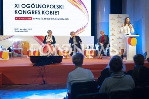 XI Ogólnopolski Kongres Kobiet w Warszawie