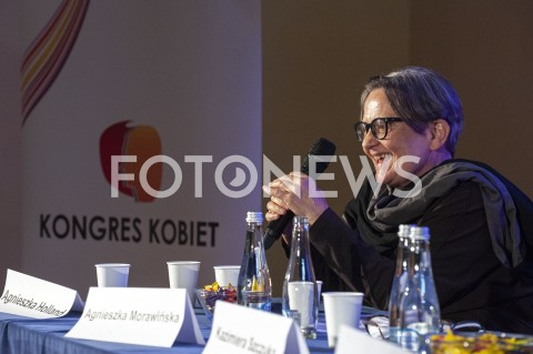 AGENCJA FOTONEWS - 20.09.2019 WARSZAWAXI OGOLNOPOLSKI KONGRES KOBIET W WARSZAWIEN/Z AGNIESZKA HOLLANDFOT GRZEGORZ KRZYZEWSKI / FOTONEWS