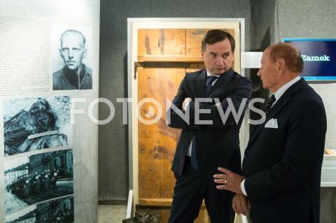 Minister sprawiedliwości Zbigniew Ziobro w Zamku Lubomirskich w Rzeszowie