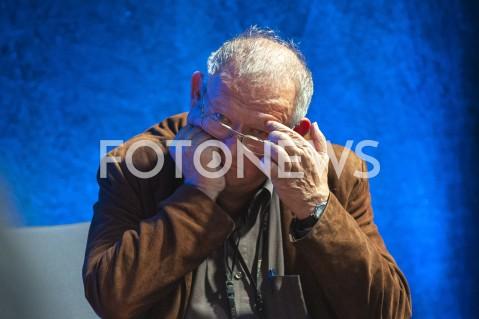 AGENCJA FOTONEWS - 30.09.2019 WARSZAWABEZ PLEBANA ADAM MICHNIK I JEGO GOSCIEMIEDZY PANEM A PLEBANEM MICHNIK TISCHNER ZAKOWSKIN/Z ADAM MICHNIKFOT GRZEGORZ KRZYZEWSKI / FOTONEWS