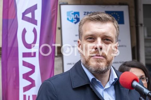 AGENCJA FOTONEWS - 01.10.2019 WARSZAWAKONFERENCJA LEWICY ZDROWIEN/Z ADRIAN ZANDBERGFOT GRZEGORZ KRZYZEWSKI / FOTONEWS