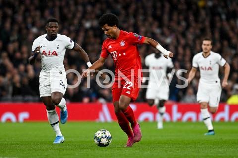 AGENCJA FOTONEWS - 01.10.2019 - LONDYNPILKA NOZNA - MECZ FAZY GRUPOWEJ LIGI MISTRZOWTOTTENHAM HOTSPUR - BAYERN MONACHIUMFootball - Champions League Group B match(Tottenham Hotspur - Bayern Munich)N/Z SERGE AURIER SERGE GNABRYFOT MATEUSZ SLODKOWSKI / FOTONEWS