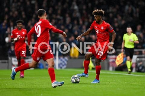 AGENCJA FOTONEWS - 01.10.2019 - LONDYNPILKA NOZNA - MECZ FAZY GRUPOWEJ LIGI MISTRZOWTOTTENHAM HOTSPUR - BAYERN MONACHIUMFootball - Champions League Group B match(Tottenham Hotspur - Bayern Munich)N/Z KINGSLEY COMANFOT MATEUSZ SLODKOWSKI / FOTONEWS
