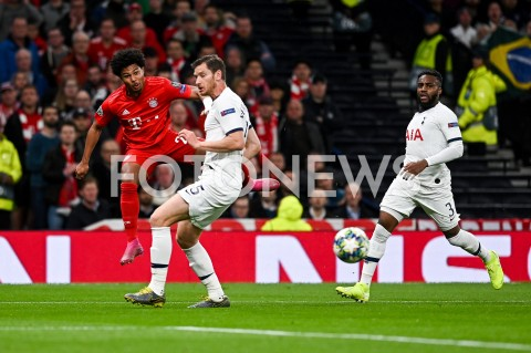 AGENCJA FOTONEWS - 01.10.2019 - LONDYNPILKA NOZNA - MECZ FAZY GRUPOWEJ LIGI MISTRZOWTOTTENHAM HOTSPUR - BAYERN MONACHIUMFootball - Champions League Group B match(Tottenham Hotspur - Bayern Munich)N/Z SERGE GNABRY JAN VERTONGHEN DANNY ROSEFOT MATEUSZ SLODKOWSKI / FOTONEWS
