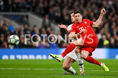 Mecz: Tottenham Hotspur - Bayern Monachium