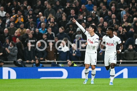 AGENCJA FOTONEWS - 01.10.2019 - LONDYNPILKA NOZNA - MECZ FAZY GRUPOWEJ LIGI MISTRZOWTOTTENHAM HOTSPUR - BAYERN MONACHIUMFootball - Champions League Group B match(Tottenham Hotspur - Bayern Munich)N/Z HEUNG MIN SON RADOSC BRAMKA GOL NA 1:0FOT MATEUSZ SLODKOWSKI / FOTONEWS
