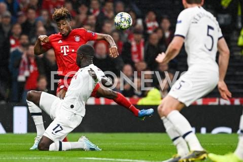 AGENCJA FOTONEWS - 01.10.2019 - LONDYNPILKA NOZNA - MECZ FAZY GRUPOWEJ LIGI MISTRZOWTOTTENHAM HOTSPUR - BAYERN MONACHIUMFootball - Champions League Group B match(Tottenham Hotspur - Bayern Munich)N/Z MOUSSA SISSOKO KINGSLEY COMANFOT MATEUSZ SLODKOWSKI / FOTONEWS