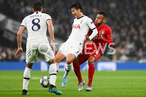 AGENCJA FOTONEWS - 01.10.2019 - LONDYNPILKA NOZNA - MECZ FAZY GRUPOWEJ LIGI MISTRZOWTOTTENHAM HOTSPUR - BAYERN MONACHIUMFootball - Champions League Group B match(Tottenham Hotspur - Bayern Munich)N/Z HEUNG MIN SON CORENTIN TOLISSOFOT MATEUSZ SLODKOWSKI / FOTONEWS