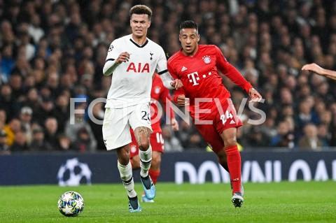 AGENCJA FOTONEWS - 01.10.2019 - LONDYNPILKA NOZNA - MECZ FAZY GRUPOWEJ LIGI MISTRZOWTOTTENHAM HOTSPUR - BAYERN MONACHIUMFootball - Champions League Group B match(Tottenham Hotspur - Bayern Munich)N/Z DELE ALLI CORENTIN TOLISSOFOT MATEUSZ SLODKOWSKI / FOTONEWS