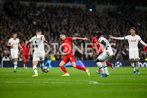 AGENCJA FOTONEWS - 01.10.2019 - LONDYNPILKA NOZNA - MECZ FAZY GRUPOWEJ LIGI MISTRZOWTOTTENHAM HOTSPUR - BAYERN MONACHIUMFootball - Champions League Group B match(Tottenham Hotspur - Bayern Munich)N/Z ROBERT LEWANDOWSKIFOT MATEUSZ SLODKOWSKI / FOTONEWS