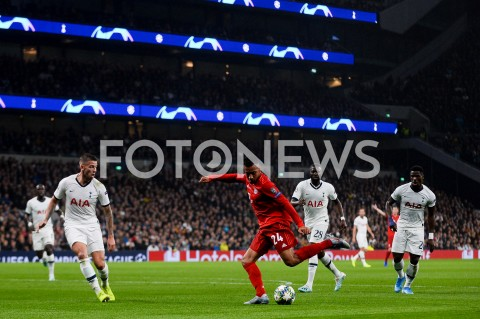 AGENCJA FOTONEWS - 01.10.2019 - LONDYNPILKA NOZNA - MECZ FAZY GRUPOWEJ LIGI MISTRZOWTOTTENHAM HOTSPUR - BAYERN MONACHIUMFootball - Champions League Group B match(Tottenham Hotspur - Bayern Munich)N/Z CORENTIN TOLISSOFOT MATEUSZ SLODKOWSKI / FOTONEWS