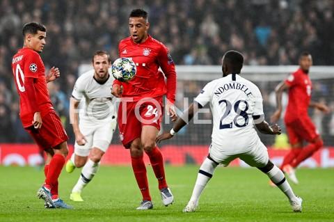AGENCJA FOTONEWS - 01.10.2019 - LONDYNPILKA NOZNA - MECZ FAZY GRUPOWEJ LIGI MISTRZOWTOTTENHAM HOTSPUR - BAYERN MONACHIUMFootball - Champions League Group B match(Tottenham Hotspur - Bayern Munich)N/Z CORENTIN TOLISSO TANGUY NDOMBELEFOT MATEUSZ SLODKOWSKI / FOTONEWS