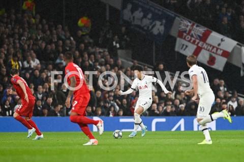 AGENCJA FOTONEWS - 01.10.2019 - LONDYNPILKA NOZNA - MECZ FAZY GRUPOWEJ LIGI MISTRZOWTOTTENHAM HOTSPUR - BAYERN MONACHIUMFootball - Champions League Group B match(Tottenham Hotspur - Bayern Munich)N/Z HEUNG MIN SONFOT MATEUSZ SLODKOWSKI / FOTONEWS
