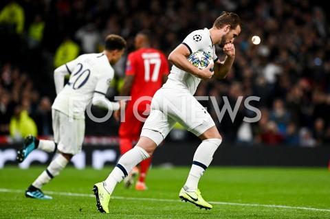 AGENCJA FOTONEWS - 01.10.2019 - LONDYNPILKA NOZNA - MECZ FAZY GRUPOWEJ LIGI MISTRZOWTOTTENHAM HOTSPUR - BAYERN MONACHIUMFootball - Champions League Group B match(Tottenham Hotspur - Bayern Munich)N/Z HARRY KANE RADOSC BRAMKA GOL NA 2:4FOT MATEUSZ SLODKOWSKI / FOTONEWS