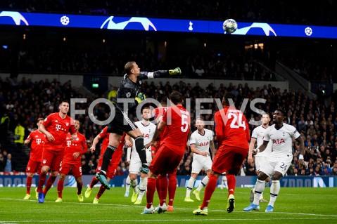 AGENCJA FOTONEWS - 01.10.2019 - LONDYNPILKA NOZNA - MECZ FAZY GRUPOWEJ LIGI MISTRZOWTOTTENHAM HOTSPUR - BAYERN MONACHIUMFootball - Champions League Group B match(Tottenham Hotspur - Bayern Munich)N/Z MANUEL NEUERFOT MATEUSZ SLODKOWSKI / FOTONEWS