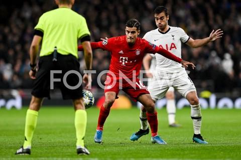 AGENCJA FOTONEWS - 01.10.2019 - LONDYNPILKA NOZNA - MECZ FAZY GRUPOWEJ LIGI MISTRZOWTOTTENHAM HOTSPUR - BAYERN MONACHIUMFootball - Champions League Group B match(Tottenham Hotspur - Bayern Munich)N/Z PHILIPPE COUTINHO HARRY WINKSFOT MATEUSZ SLODKOWSKI / FOTONEWS