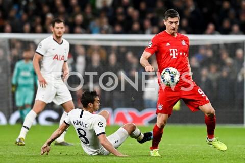AGENCJA FOTONEWS - 01.10.2019 - LONDYNPILKA NOZNA - MECZ FAZY GRUPOWEJ LIGI MISTRZOWTOTTENHAM HOTSPUR - BAYERN MONACHIUMFootball - Champions League Group B match(Tottenham Hotspur - Bayern Munich)N/Z HARRY WINKS ROBERT LEWANDOWSKIFOT MATEUSZ SLODKOWSKI / FOTONEWS