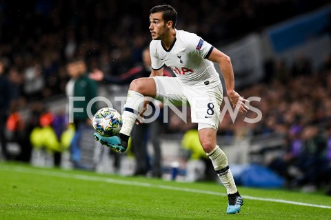 AGENCJA FOTONEWS - 01.10.2019 - LONDYNPILKA NOZNA - MECZ FAZY GRUPOWEJ LIGI MISTRZOWTOTTENHAM HOTSPUR - BAYERN MONACHIUMFootball - Champions League Group B match(Tottenham Hotspur - Bayern Munich)N/Z HARRY WINKS SYLWETKAFOT MATEUSZ SLODKOWSKI / FOTONEWS