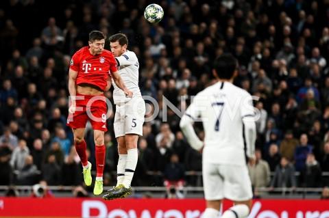 AGENCJA FOTONEWS - 01.10.2019 - LONDYNPILKA NOZNA - MECZ FAZY GRUPOWEJ LIGI MISTRZOWTOTTENHAM HOTSPUR - BAYERN MONACHIUMFootball - Champions League Group B match(Tottenham Hotspur - Bayern Munich)N/Z ROBERT LEWANDOWSKI JAN VERTONGHENFOT MATEUSZ SLODKOWSKI / FOTONEWS