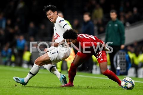 AGENCJA FOTONEWS - 01.10.2019 - LONDYNPILKA NOZNA - MECZ FAZY GRUPOWEJ LIGI MISTRZOWTOTTENHAM HOTSPUR - BAYERN MONACHIUMFootball - Champions League Group B match(Tottenham Hotspur - Bayern Munich)N/Z HEUNG MIN SON SERGE GNABRYFOT MATEUSZ SLODKOWSKI / FOTONEWS
