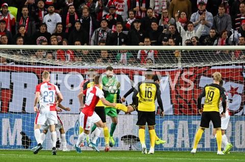 AGENCJA FOTONEWS - 02.10.2019 - PRAGAPILKA NOZNA - MECZ FAZY GRUPOWEJ LIGI MISTRZOWSLAVIA PRAGA - BORUSSIA DORTMUNDFootball - Champions League Group F match(Slavia Prague - Borussia Dortmund)N/Z ONDREJ KOLARFOT MATEUSZ SLODKOWSKI / FOTONEWS
