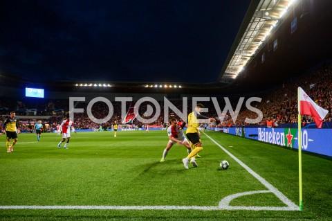 AGENCJA FOTONEWS - 02.10.2019 - PRAGAPILKA NOZNA - MECZ FAZY GRUPOWEJ LIGI MISTRZOWSLAVIA PRAGA - BORUSSIA DORTMUNDFootball - Champions League Group F match(Slavia Prague - Borussia Dortmund)N/Z JAN BORIL JADON SANCHOFOT MATEUSZ SLODKOWSKI / FOTONEWS