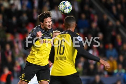 AGENCJA FOTONEWS - 02.10.2019 - PRAGAPILKA NOZNA - MECZ FAZY GRUPOWEJ LIGI MISTRZOWSLAVIA PRAGA - BORUSSIA DORTMUNDFootball - Champions League Group F match(Slavia Prague - Borussia Dortmund)N/Z MATS HUMMELSFOT MATEUSZ SLODKOWSKI / FOTONEWS