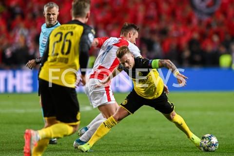 Mecz: Slavia Praga - Borussia Dortmund