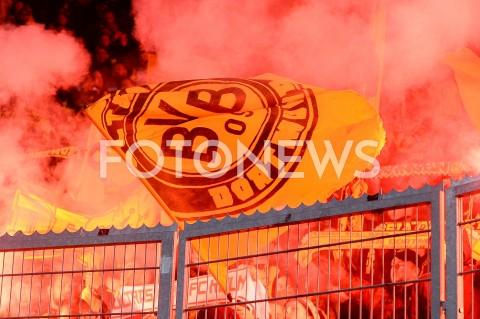 AGENCJA FOTONEWS - 02.10.2019 - PRAGAPILKA NOZNA - MECZ FAZY GRUPOWEJ LIGI MISTRZOWSLAVIA PRAGA - BORUSSIA DORTMUNDFootball - Champions League Group F match(Slavia Prague - Borussia Dortmund)N/Z KIBICE BORUSSIA DORTMUND OPRAWA RACEFOT MATEUSZ SLODKOWSKI / FOTONEWS