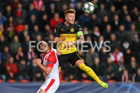 AGENCJA FOTONEWS - 02.10.2019 - PRAGAPILKA NOZNA - MECZ FAZY GRUPOWEJ LIGI MISTRZOWSLAVIA PRAGA - BORUSSIA DORTMUNDFootball - Champions League Group F match(Slavia Prague - Borussia Dortmund)N/Z MARCO REUSFOT MATEUSZ SLODKOWSKI / FOTONEWS